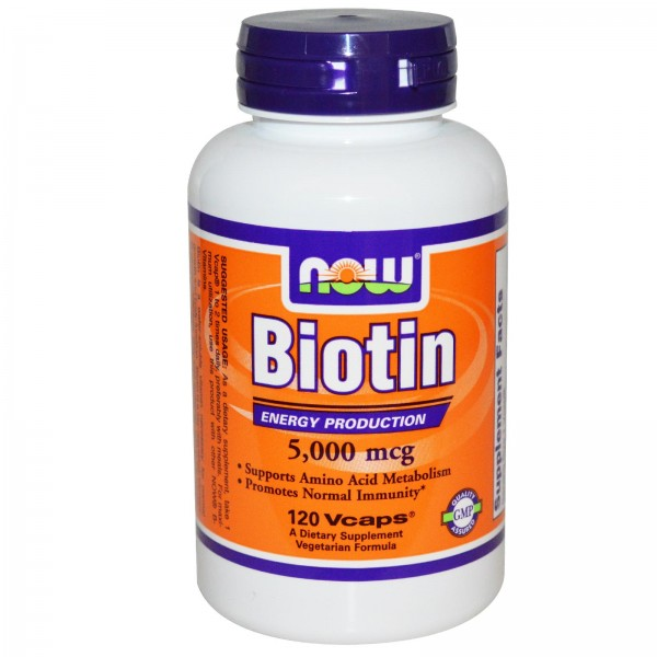 NOW biotin supplement