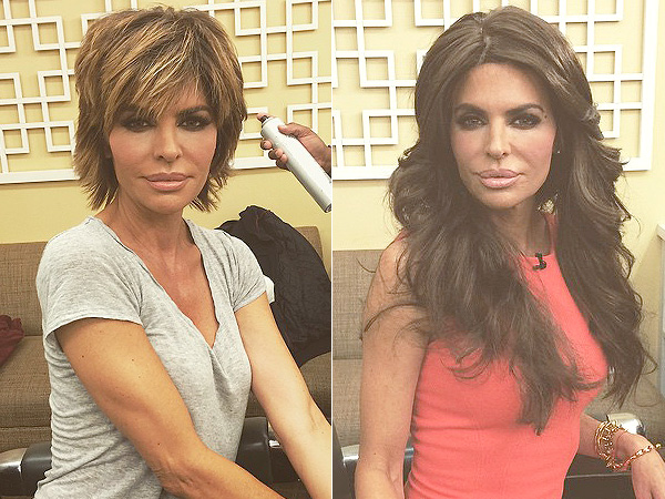 How to get lisa rinna's hairstyle step by step tutorial.