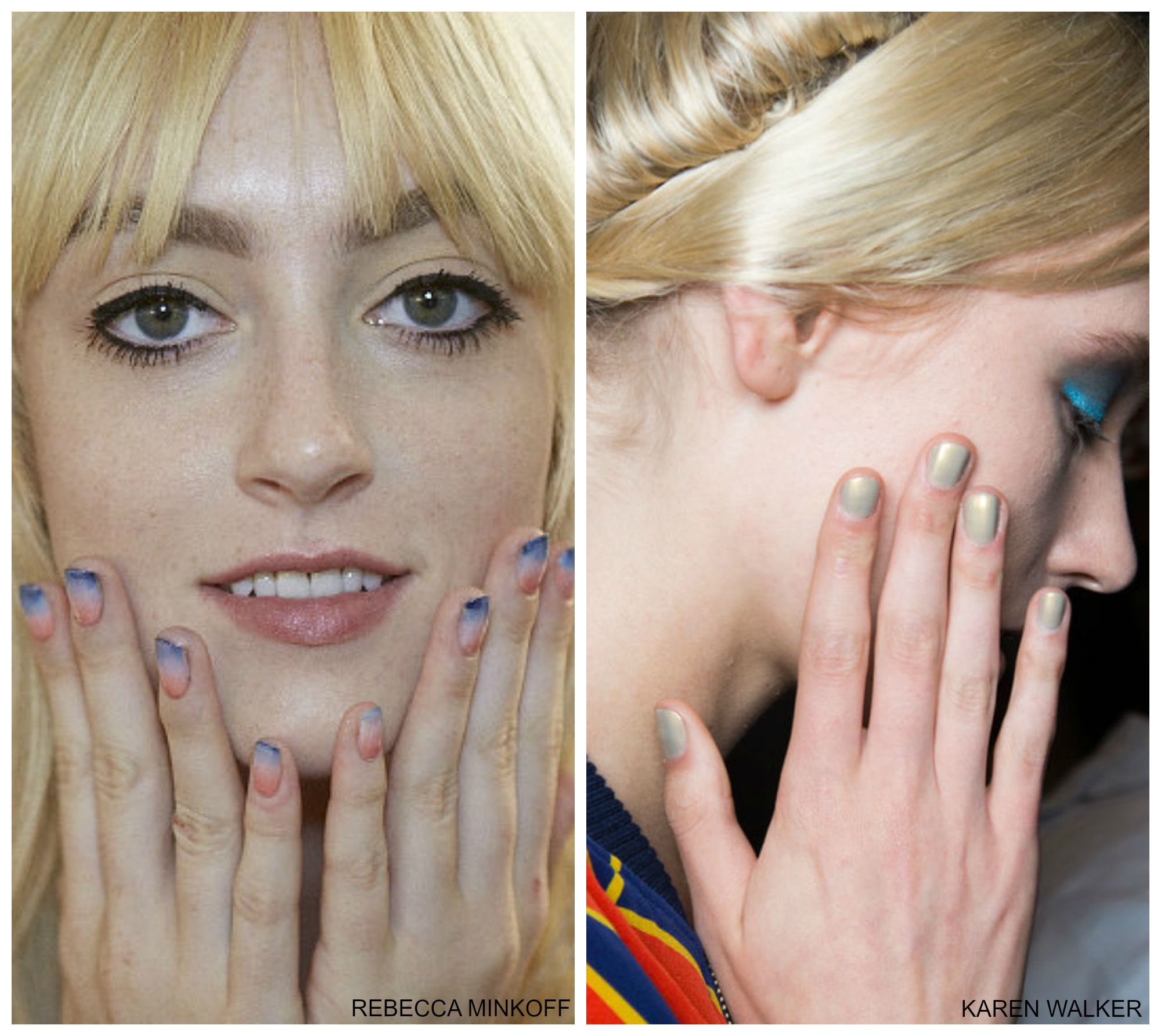 5 Nail Trends From NY Fashion Week SS \'16 - BeautyDesk
