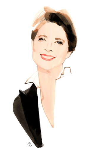 Isabella Rossellini - (c) Marc -Antoine Coulon for Lancôme