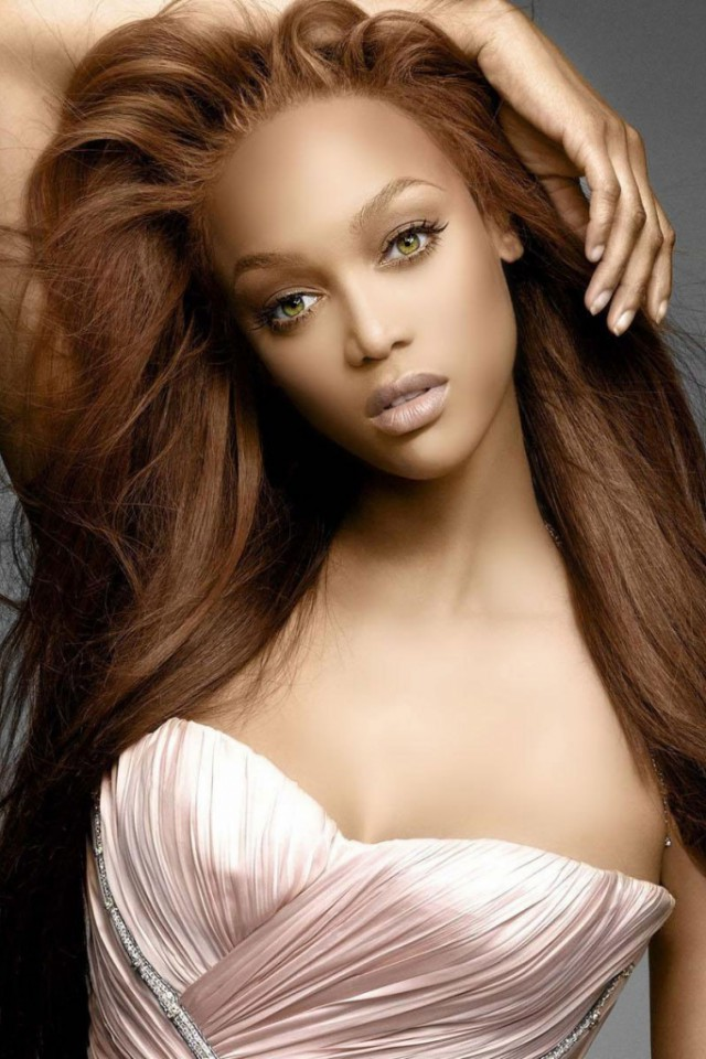 tyra banks new haircut