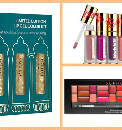 holiday lip palettes