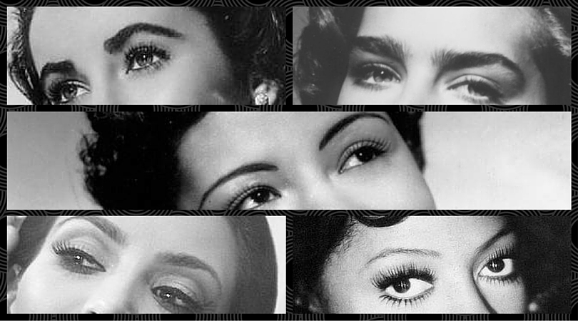 eyebrow trends over time